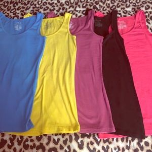 Five Time & Tru Tank Tops